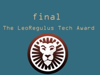 The LeoRegulus Tech Award